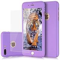 iPhone 8Plusケース、iPhone 7Plusケース、KMISS 2in 1超薄型フルボディ保護ハードプレミアムラグジュアリーカバー[スリムフィット]衝撃吸収性PC滑り止めケースApple iPhone 7/ 8Plus