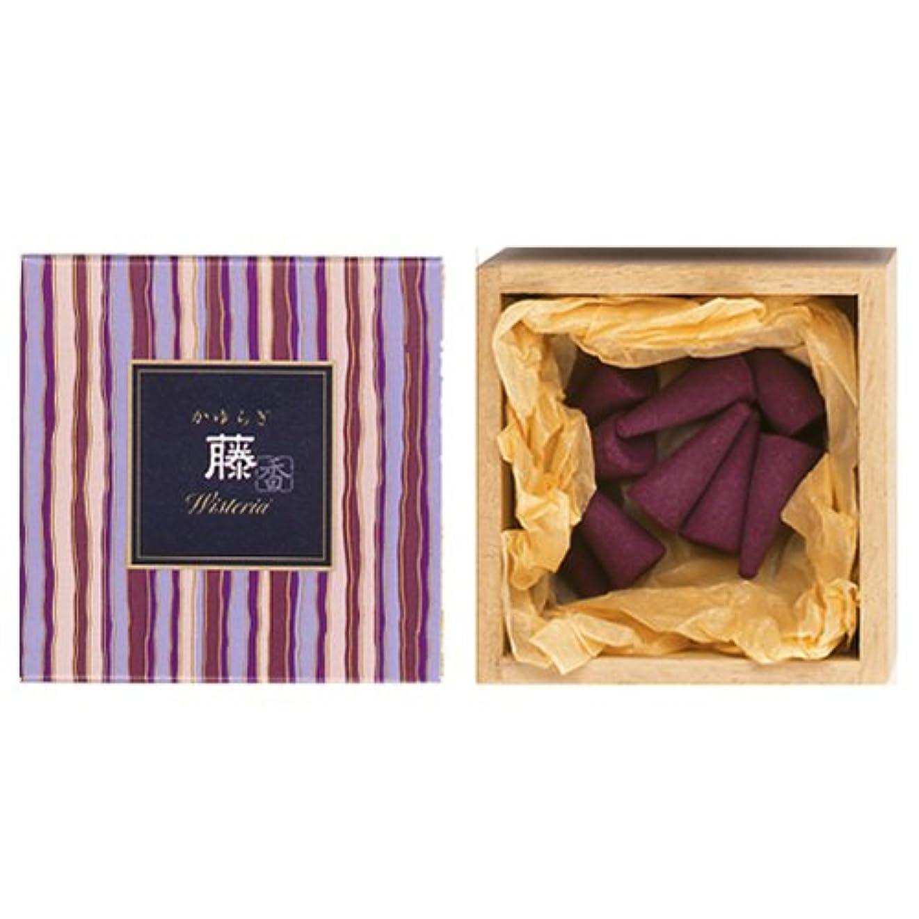裂け目レンドソーセージNippon Kodo – Kayuragi – WISTERIA 12 Cones