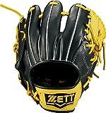 ZETT(ゼット) 野球 トレーニンググラブ (グローブ) 右投用 ブラック×イエロー(1953) BPGB17710