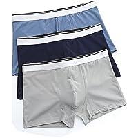 WEONEDREAM Men's Underwear Cotton Comfortable Breathable Trunk (3 Pack)