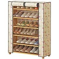 靴ラック6層多機能家庭用経済靴キャビネットオックスフォード布靴70cm
