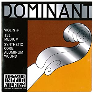 Dominant No.131 ヴァイオリン弦 ペルロン/アルミ巻 A線 (4/4)