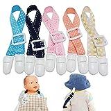 マルチホルダー マルチクリップ マルチ ホルダー クリップ ストラップ おもちゃ おしゃぶり スタイ 落下防止 紛失防止 赤ちゃん (FD-Aタイプ, イエロー)