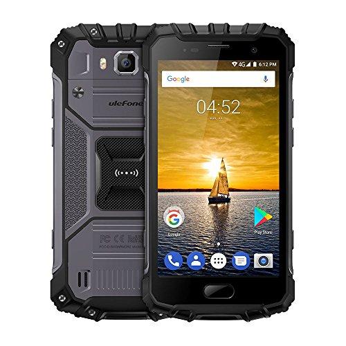 Ulefone Armor 2  スマートフォン アウトドア 屋外 au不可 4G SIMフリー Android 7.0 Helio P25 オクタコア 2.6GHz 5インチ FHD 1920* 1080px 16MP 8MP 6GB RAM 64GB ROM IP68防水 防塵 金属ボディー デュアルフラッシュ 指紋認証 4700mAh 快速充電 デュアルsim GSM WCDMA CDMA2000 TD-SCDMA FDD-LTE TDD-LTE グレー オレンジ (グレー)