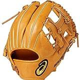 asics(アシックス) 硬式 野球用 グローブ 内野手用 (右投げ用) 高校野球対応GOLD STAGE ROYAL ROAD ゴールドステージ ロイヤルロード サイズ7 2019年モデル 3121A190 ライトブラウン LH(右投げ用)