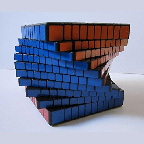 10x10 ルービックキューブ 10階 上級者向けパズル マジック 玩具 お...