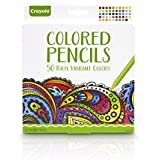 Crayola 50ct Colored Pencils - Adult