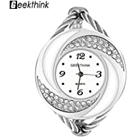 VGEBY Women Bangle Watch Quartz Analog Bracelet Wrist Watch Band for Girl Woman Lady