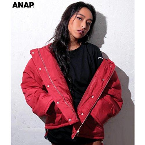アナップ(ANAP) ショールフード中綿ジャケット