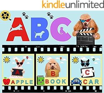 ABC ( Cute Little Dogs Make ABC Book :) (English Edition)