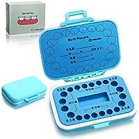 Adorable 乳歯ケース 乳歯入れ 子供の歯 保存 保管 ケース 人気 名前 日本語 男の子 女の子 ベビートゥース 出産祝い (blue)