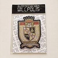 BUMP OF CHICKEN ワッペン2枚セット★WILL POLIS ライブグッズ 物販 ウィルポリス バンプオブチキン エンブレム