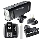 Godox AD200 ポケット TTL スピードライト フラッシュ ポータブル 付き GN52 GN60 1 / 8000s HSS 2.4Gワイヤレス Xシステム 200W強力パワー + X1T-S TTLワイヤレスフラッシュトリガー Sony 用送信機 SONY カメラ用