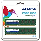 A-DATA 増設メモリ 240pin Unbuffered DDR3-1333 ( PC3-10600 ) 8GB ( 4GBx2 ) CL9 [14156] AD3U1333C4G9-2