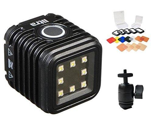 LitraTorch (防水カメラライト) + Litraフィルターセット + Litraコールドシューボールマウント