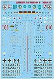 カラカルモデル デカール 1/48 ドイツ空軍 F-4F ファントムII