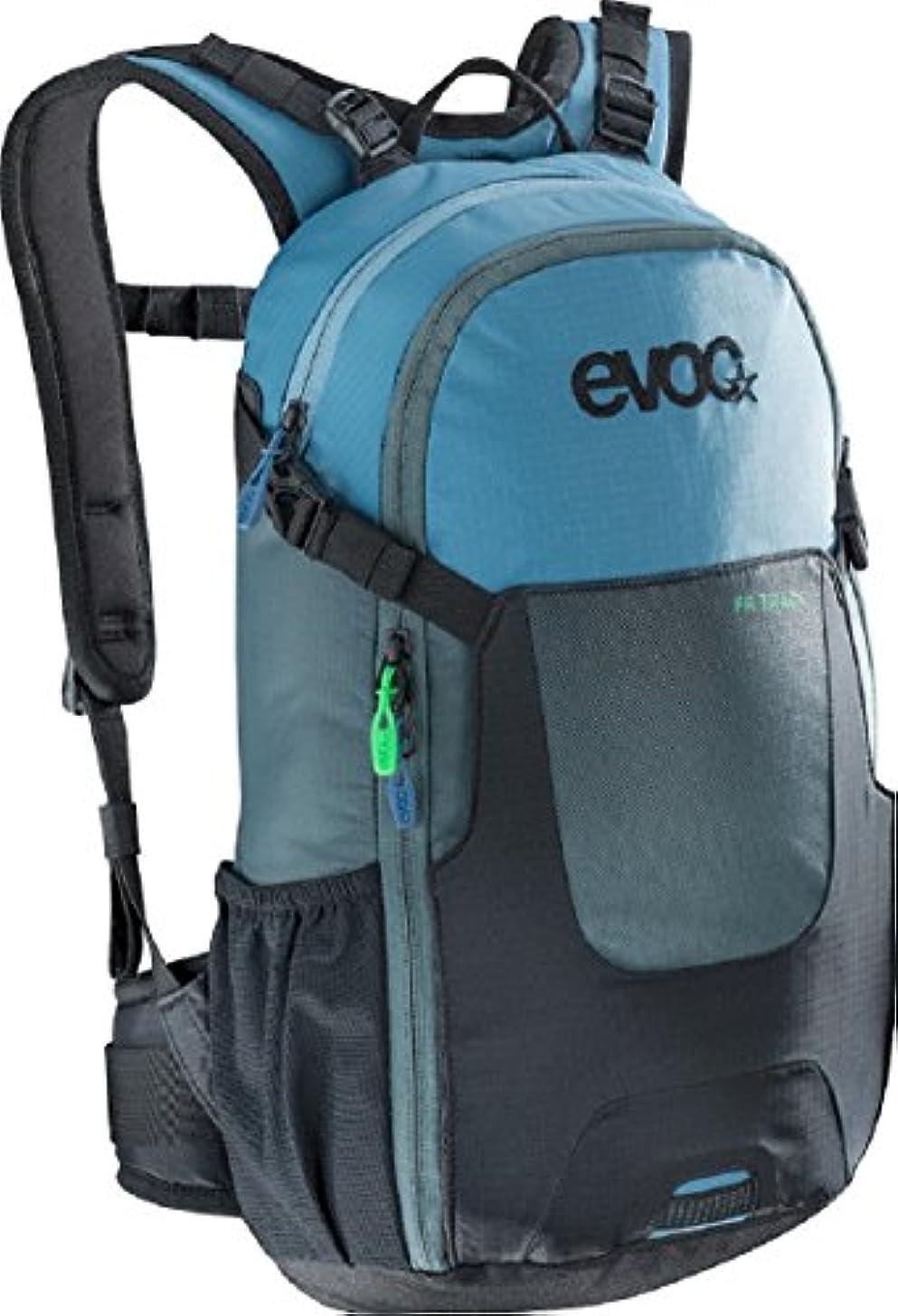 ジェームズダイソン容疑者励起Evoc black-slate-blue FRトラック – 10リットルHydration Pack with組み込みBack prot ]