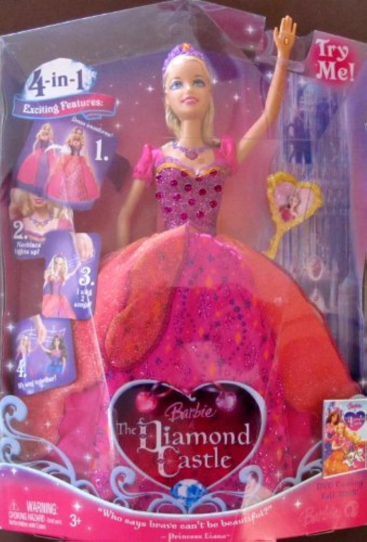 バービー& The Diamond Castle Princess Liana人形(ブロンド) W Lights & Singing機能( 2008 )