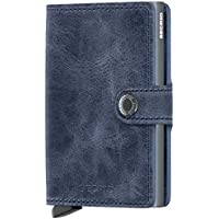 Secrid Miniwallet - Navy Blue Leather