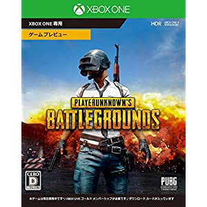 PLAYERUNKNOWN'S BATTLEGROUNDS - XboxOne