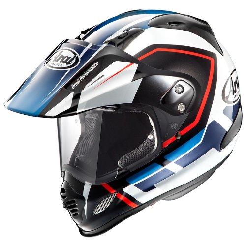 アライ(ARAI) バイクヘルメット オフロード TOUR CROSS3 DETOUR BLUE XL 61-62cm