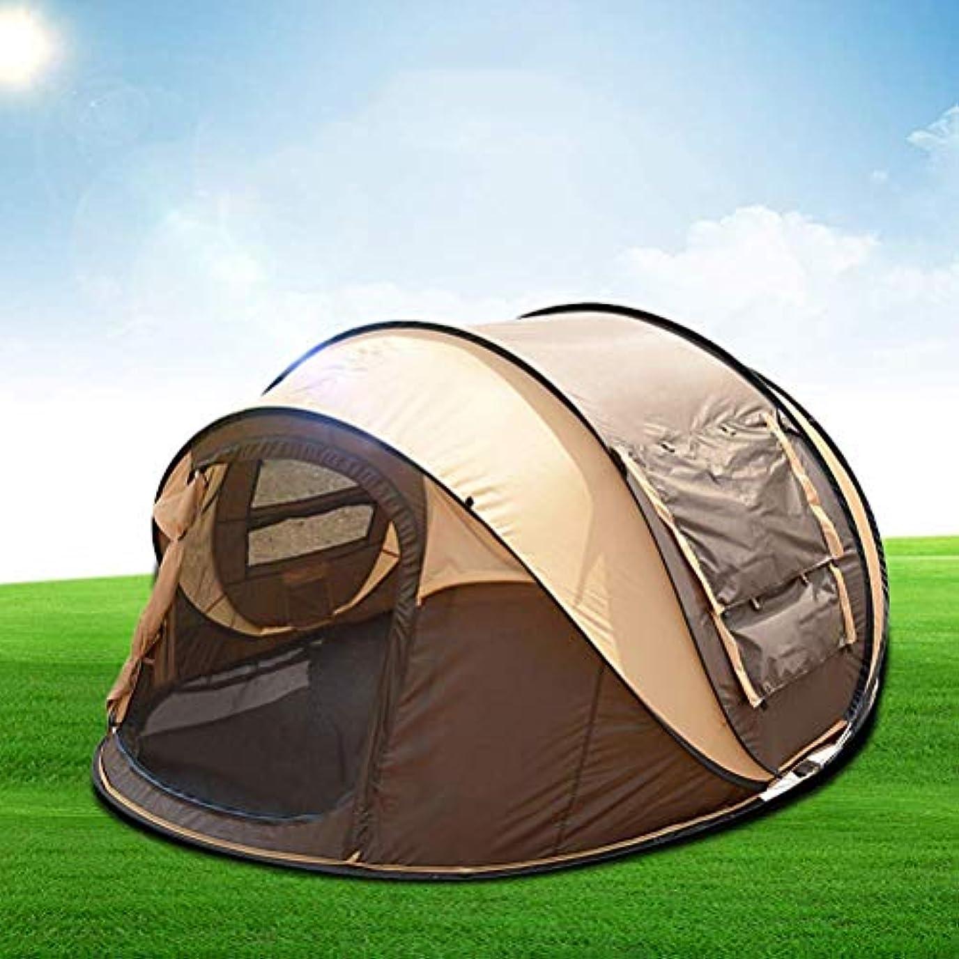 日食急いで座標大きい防水ドームのテントのテントのウルトラ、屋外のハイキング釣のための地面シートの紫外線保護されたキャンプのビーチの日曜日の避難所で縫われる100%の防水家族のキャンプテント