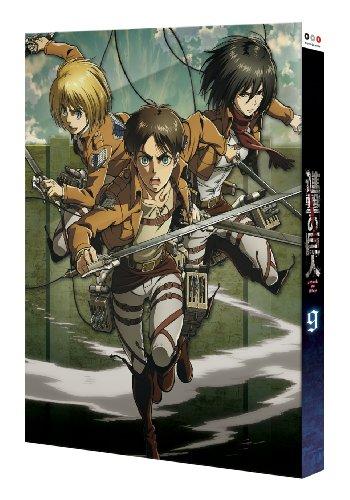 進撃の巨人9 DVD