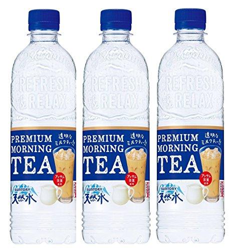 サントリー 天然水 PREMIUM MORNING TEA ミルク 550ml