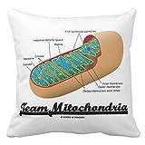 Zazzleチームミトコンドリア( Mitochondrionユーモア)投げ枕 20