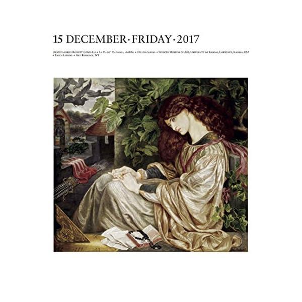 Art Gallery 2017 Calendarの紹介画像5
