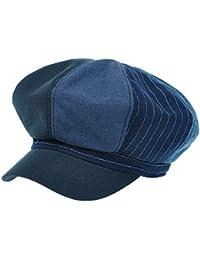 [PLIC N PLOC]EMN05. 4カラー配色レトロメンズレディース ベレー帽 鳥打ち帽 ハンチングフラットキャップ