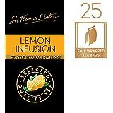 Sir Thomas Lipton Lemon Infusion Envelope Herbal Bags, 25 Pieces
