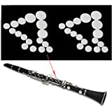Comidox 17pcs/Set Clarinet Leather Pads for Exquisite Wind Instrument Accessories 2Sets