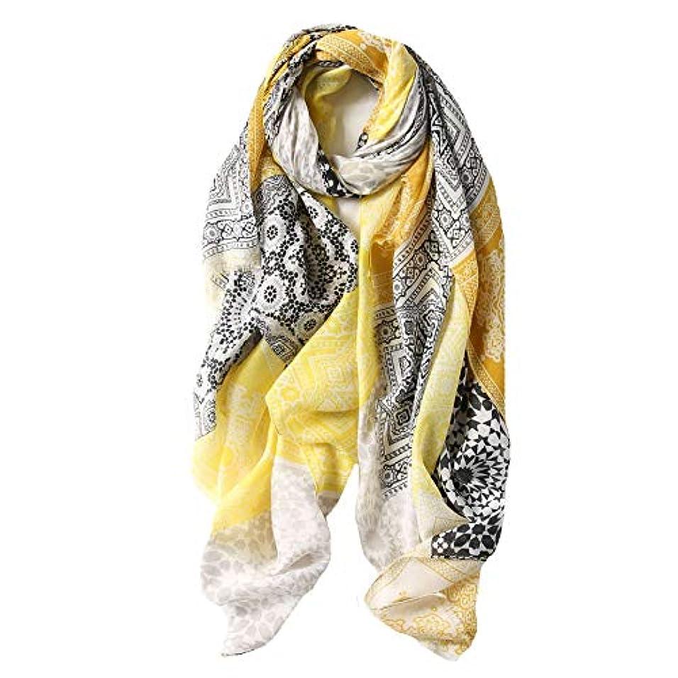 法的販売計画メールスカーフ レディース 綿 民族風 花柄 四季通用 ストール UVカット エアコン対策 紫外線 冷え対策 袋付 両用 柔らか ストール ショール 優しい肌触り 贈りもの 屋外 外出 90 * 180CM