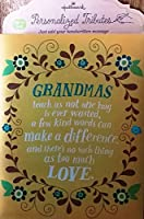ホールマークPersonalized Tributes for Grandmas