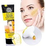 HailiCare 24k Gold Collagen Peel-off Facial Mask Whitening Anti-Wrinkle Face Masks Skin Care Face Lifting Firming Moisturize 4.22 Fl.oz