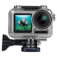 新しいスポーツカメラ防水ハウジングケースシェルダイビング45 M DJIオスモアクション