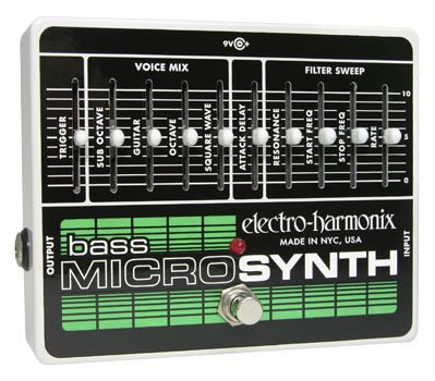 Electro-Harmonix Bass MICROSYNTH 国内用電源アダプター付属 並行輸入品