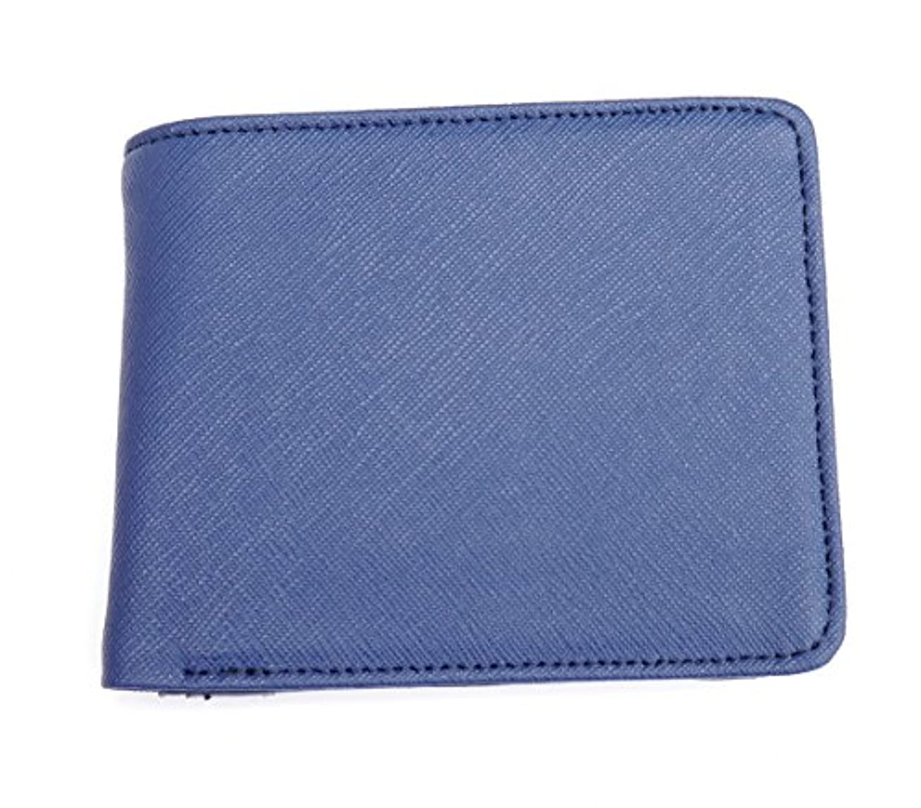 悪意判定愛撫牛革 折り財布 カード入れ レザー調型押し 財布 メンズ YW-307-2