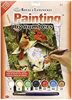"Junior Small Paint By Number Kit 8.75""X11.75""-Native Neighbors (並行輸入品)"
