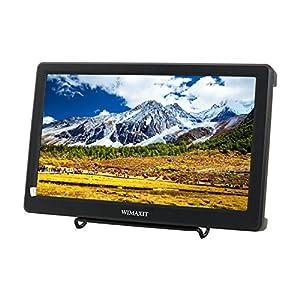 WIMAXIT 10.1インチモニター 1900x1080 HDMI VGA 入力 内蔵スピーカー 広視野角 PC/VCR/DVD/テレビ/CCTV監視モニター/カメラなど対応