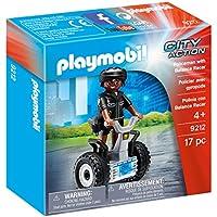 PLAYMOBIL Policeman with Balance Racer