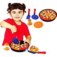 Toy Cubby Cooking and Cutting Pizza Pie Toy Food Kids Play Set by Toy Cubby