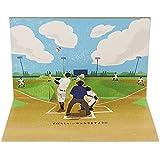 サンリオ 誕生日カード ポップアップ 野球  P4601