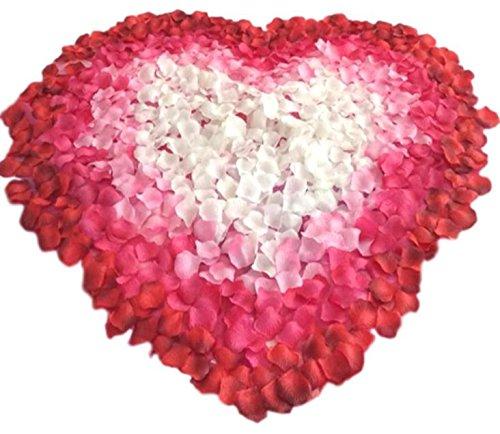 Oak fw 2,000 枚 セット フラワー シャワー 花びら 造花 ウェディング 二次会 誕生日 パーティー サプライズ ホワイト