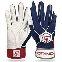 LaportaスポーツGrind野球ソフトボールバッティング手袋大人用サイズS、M、L、XL X-Large
