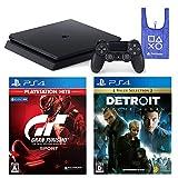 PlayStation 4 + グランツーリスモSPORT + Detroit: Become Human + オリジナルデザインエコバッグ セット (ジェット・ブラック) (CUH-2200AB01)