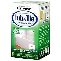 Rust-Oleum 7860519 Tub And Tile Refinishing 2-Part Kit White 【Creative Arts】 [並行輸入品]