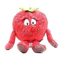 LOCKYOU1ピースフルーツ野菜柔らかいぬいぐるみぬいぐるみ人形かわいいギフト用キッズキッズ 25-28cm