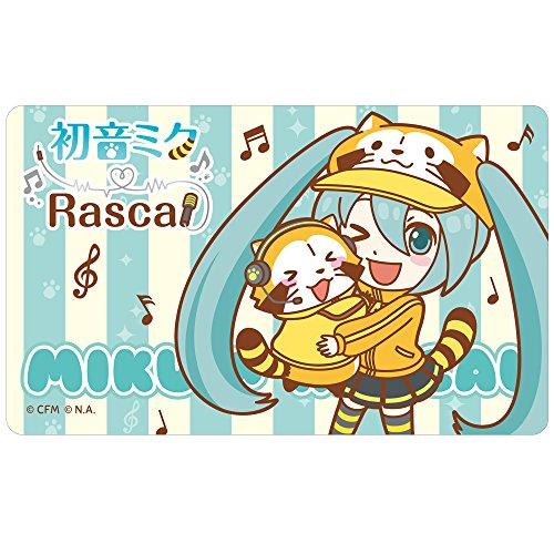 初音ミク×ラスカル2018 光るICカードステッカー【ver.1】...